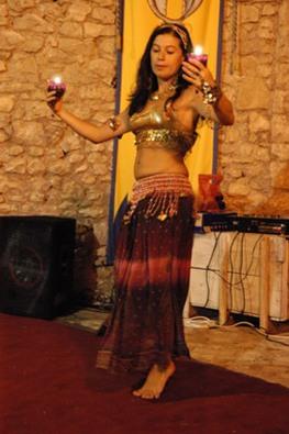 Isis, danza araba