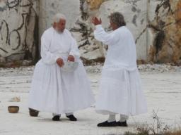 Cava dei poeti - Carrara - Poesie per la Pace 2012