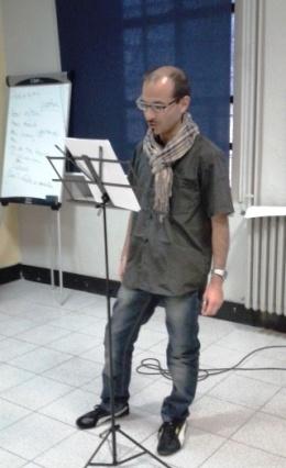 Poesie per la Pace - Biblioteca Borghesiana - Pubblico in lettura