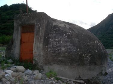 Poesie per la Pace - Poesie scritta su un bunker da Marco Annicchiarico