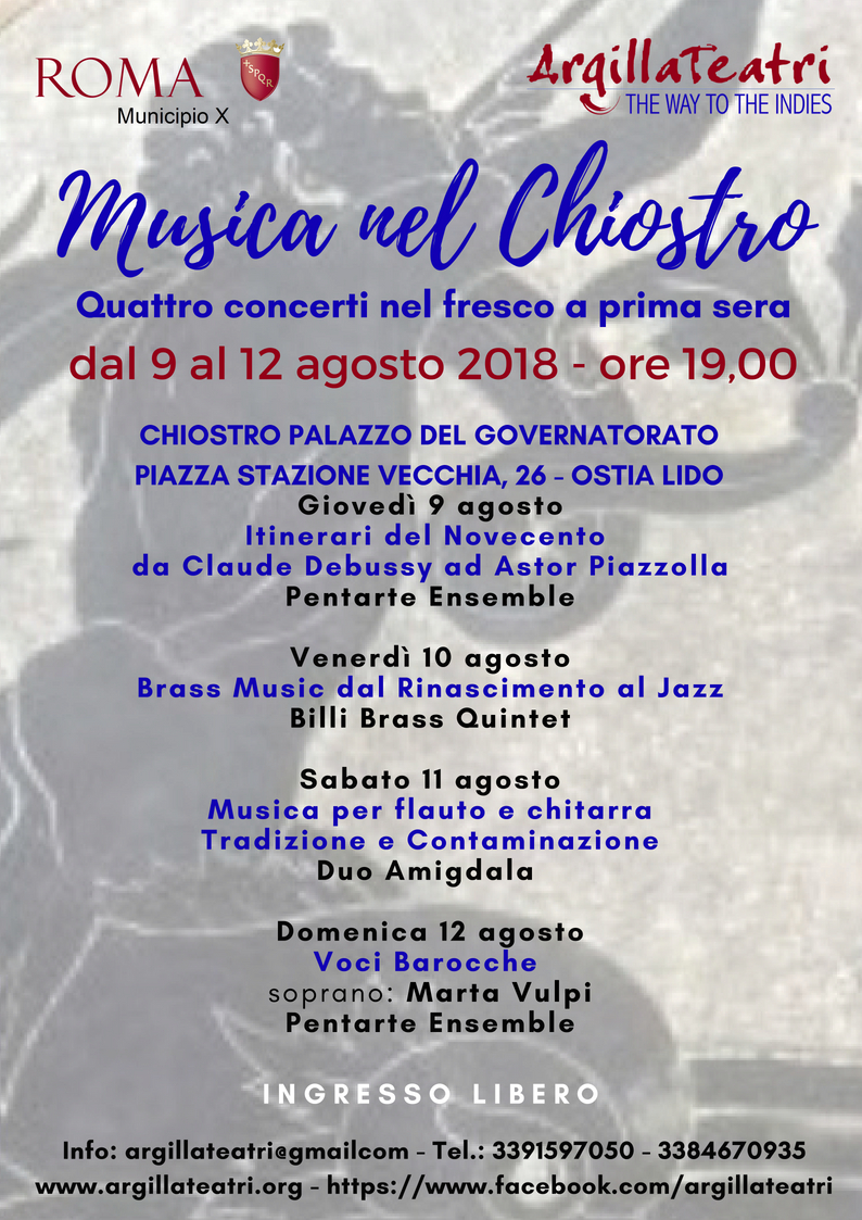 Musica nel Chiostro locandina